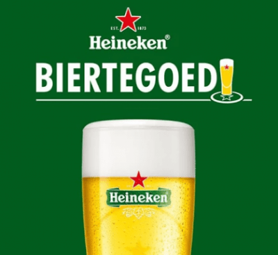 Heineken Biertegoed concept