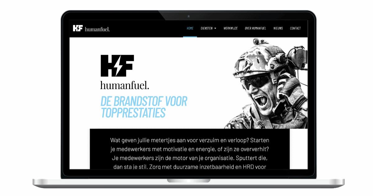 HumanFuel webteksten