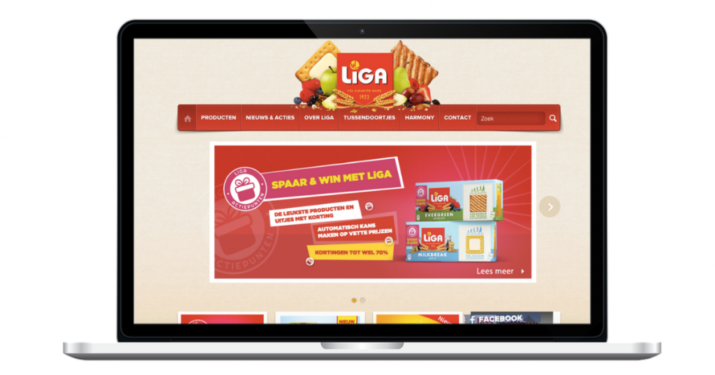 LiGA Actiepunten website