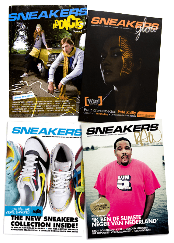 Copywriting Sneakers Magazines