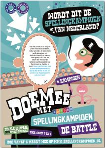 Poster Zwijsen Spellingkampioen