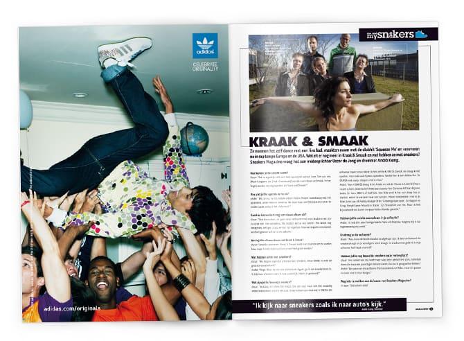 Interview Sneakers magazine Kraak & Smaak