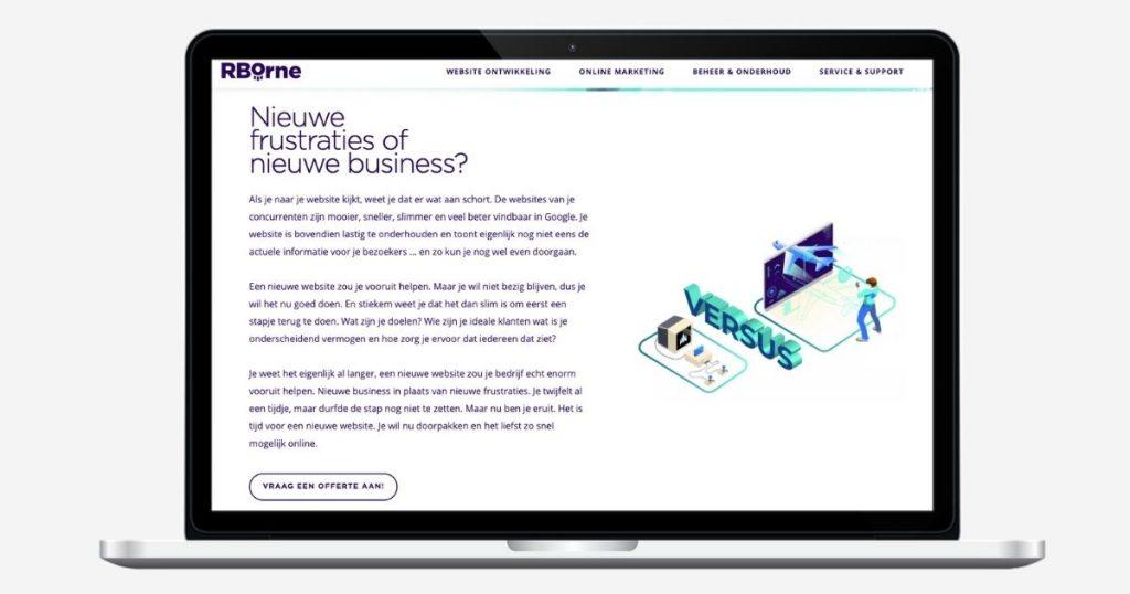 RBorne webteksten - merkverhaal