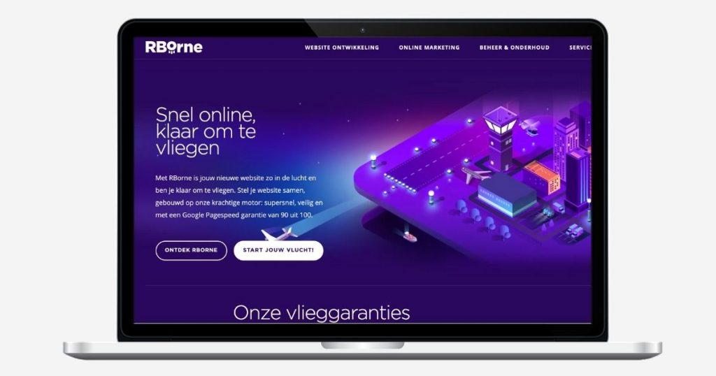 RBorne Homepage website